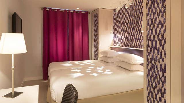 Escapada relax en habitación Superior en París