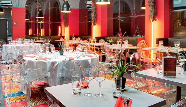 Plaisirs de la table et relaxation au cœur de Rouen