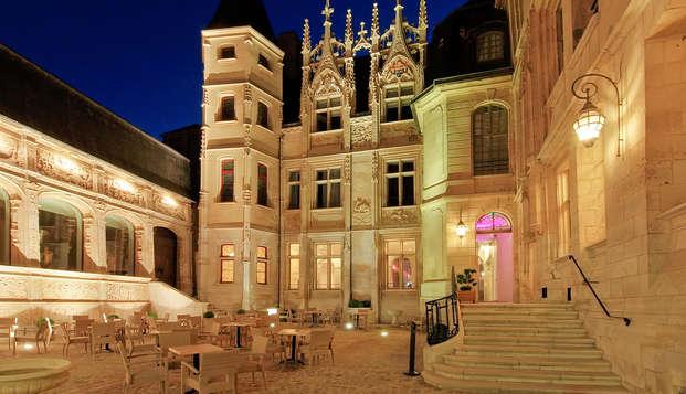 Spa-Hotel de Bourgtheroulde - terrace