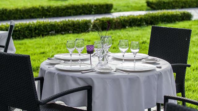 Plaisirs de la table au bord du lac de Gérardmer