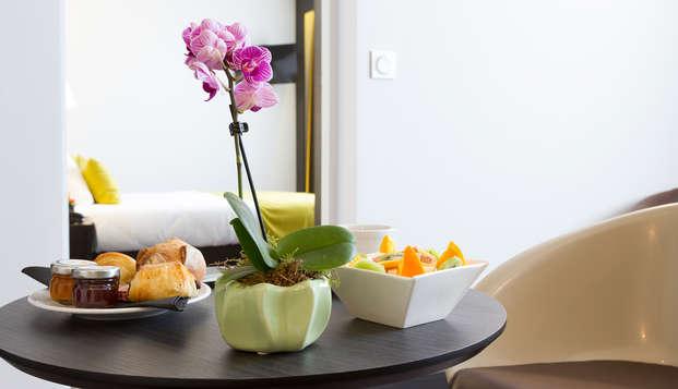 Nemea Appart Hotel Residence Concorde - breakfast