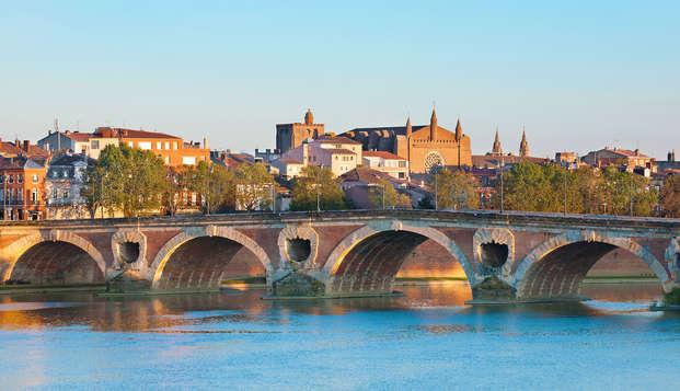 Ontspanning in het hartje van Toulouse