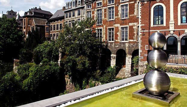 Luxueus uitje in de stad Luik
