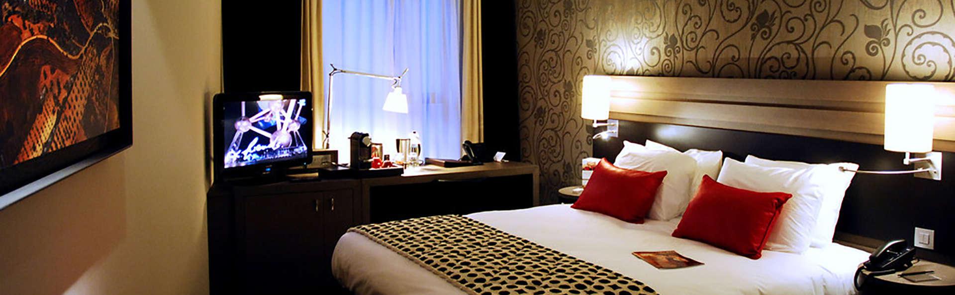 Romanticismo e benessere in un hotel 5* a Liegi, in Belgio (a partire da 2 notti)
