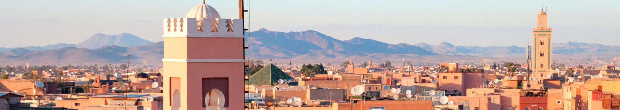 Escapadas fin de semana en Marrakech-Safi