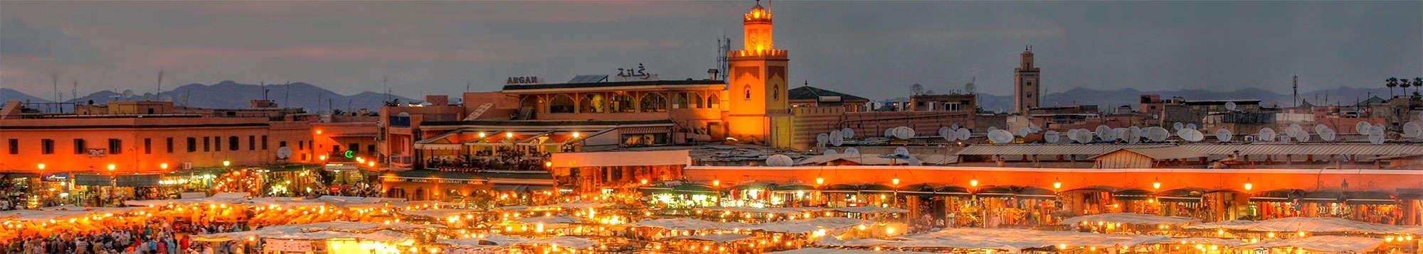 Escapadas fin de semana a Marrakech