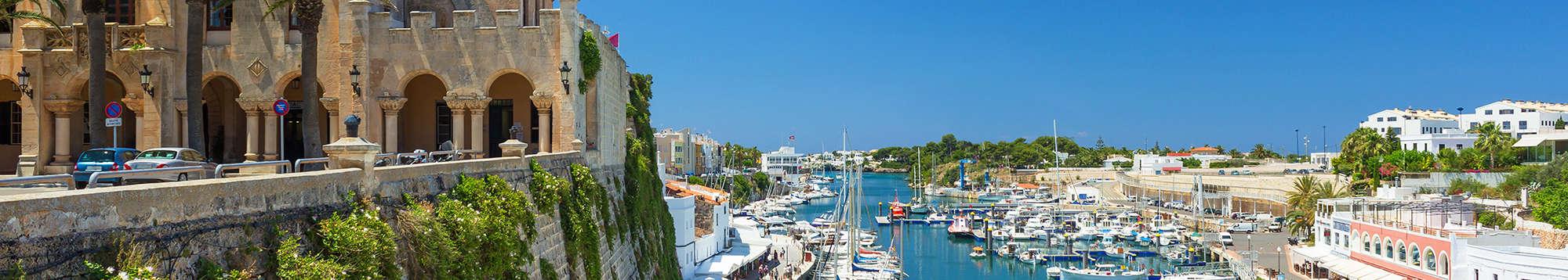 Escapadas fin de semana en Menorca