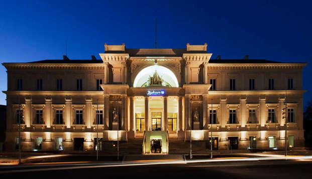 Hotel Radisson Blu Nantes - front