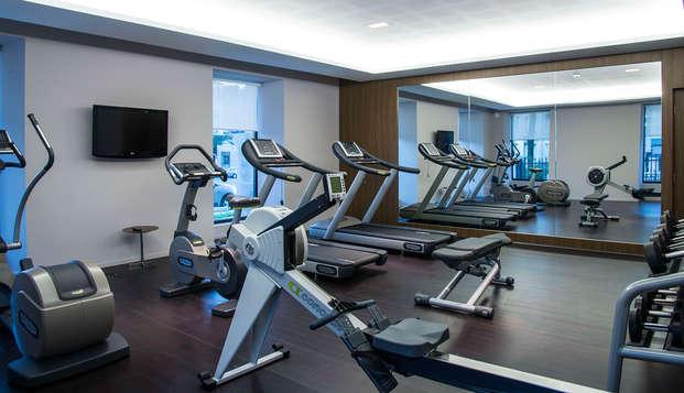 Hotel Radisson Blu Nantes - gym