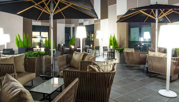 Hotel Radisson Blu Nantes - terrace