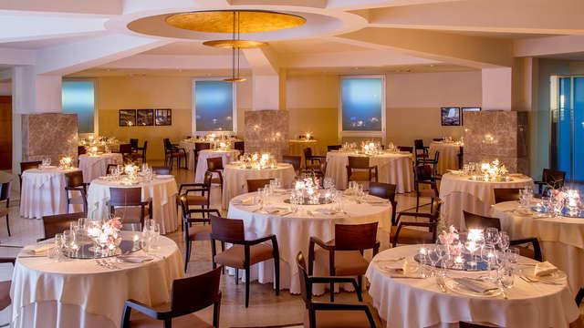 Notte ad Aprilia con cena: gusto alle porte di Roma