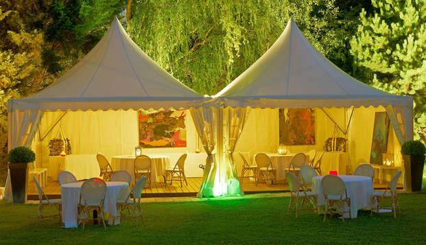 Hotel Les Jardins d Adalric - Obernai - Terrace