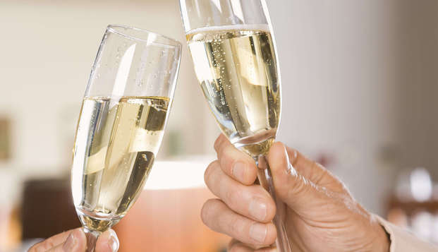 Romance, burbujas y relax con upgrade en Verviers
