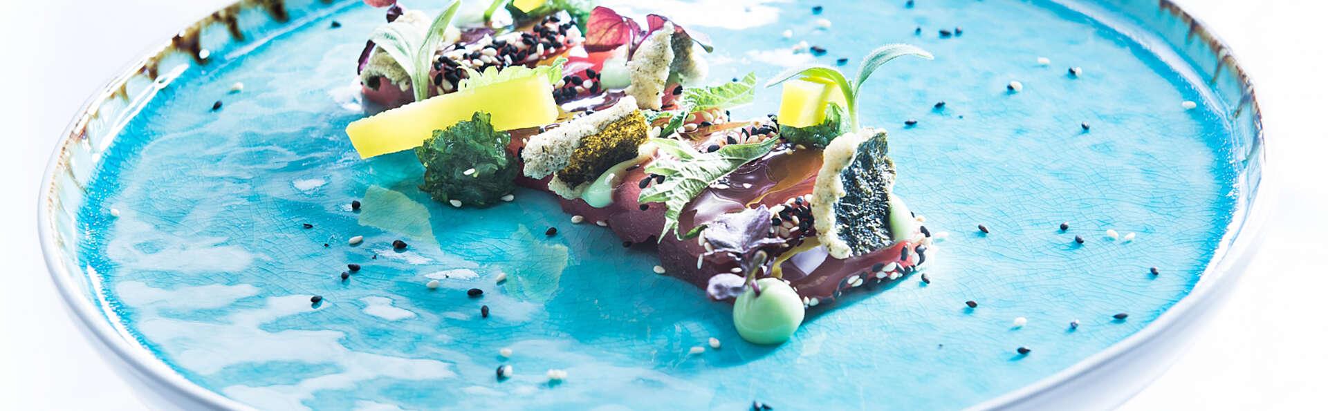 Plaisir culinaire sur la plage de Scheveningen