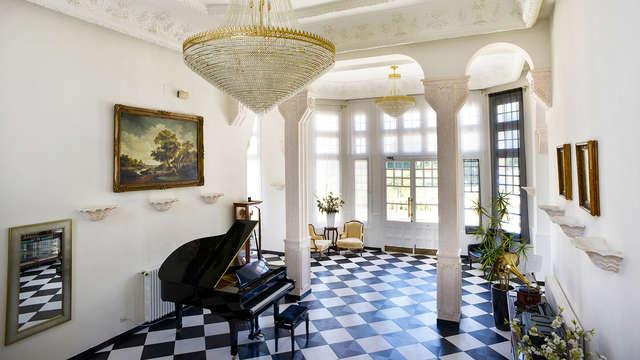 Escapada con cena y circuito termal en un palacio del s. XVIII cerca de Valladolid