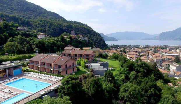 Soggiorno in appartmento in stupenda posizione sulle rive del Lago di Como!