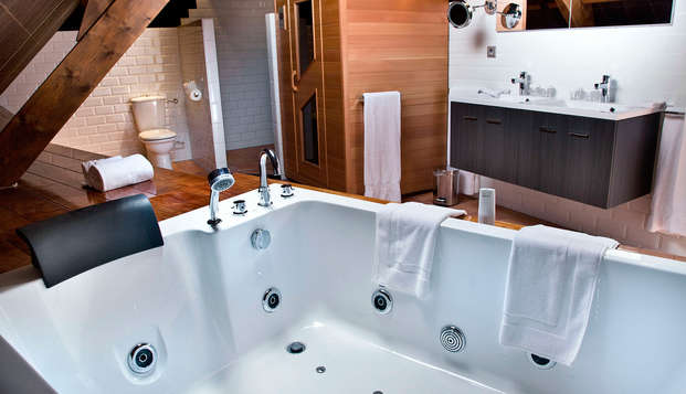 Hotel Spa Savarin - bathroom delux