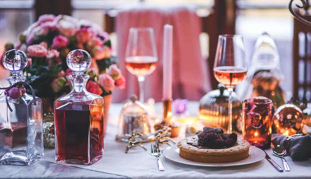 Hotel Spa Savarin - table