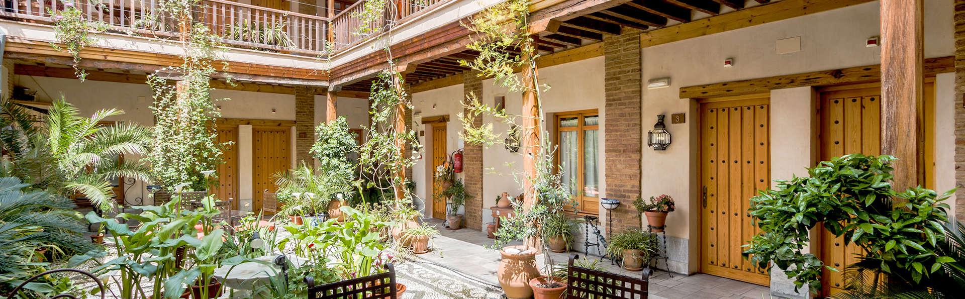 Descubre el encanto de Granada con botella de cava incluida