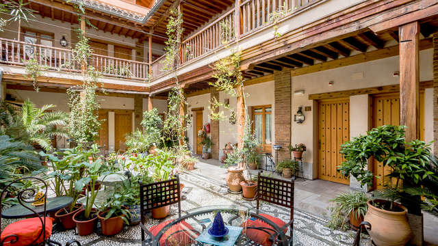 Abadia Hotel - Terrace