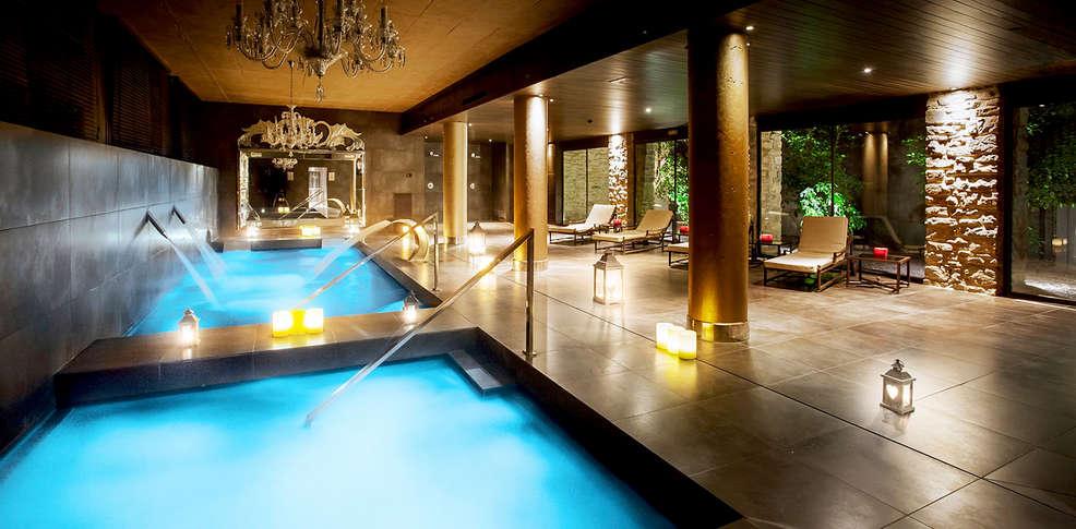 Week end de luxe gorraiz avec 1 acc s au spa sur Hotel lujo sierra madrid