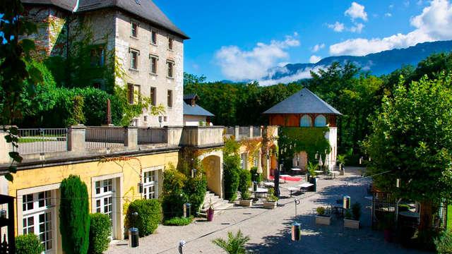3x2: l'incanto di un castello 4* vicino a Aix-les-Bains