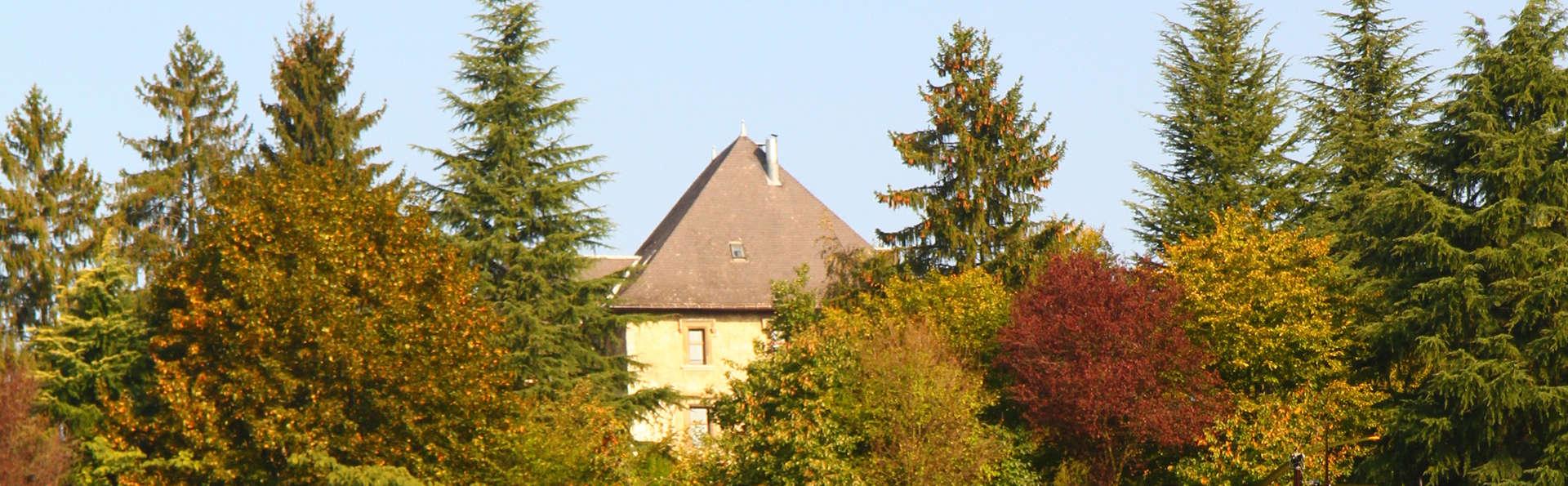 Verblijf in een 4* kasteel aan de rand van Aix-les-Bains (3 nachten voor de prijs van 2)