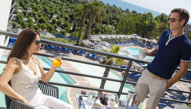 Hotel Spa Baie des Anges by Thalazur - terras balkon