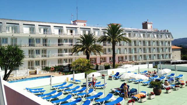 Escapada Romántica a las afueras de Sanxenxo en un pequeño resort