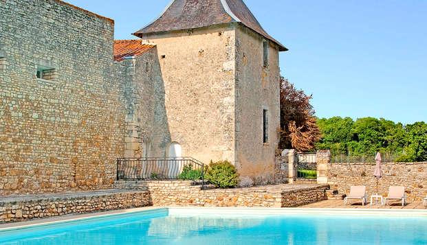 Chateau de Perigny - frontpool