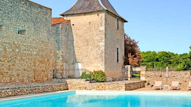 Vie de château et dîner romantique aux chandelles près de Poitiers