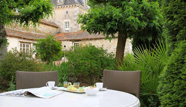Chateau de Perigny - terrace