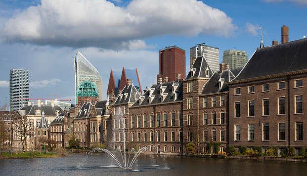 Découvrez la belle ville de La Haye et détendez-vous dans le centre de bien-être