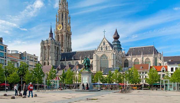Luxe, sauna en ontbijt met bubbels in hartje Antwerpen