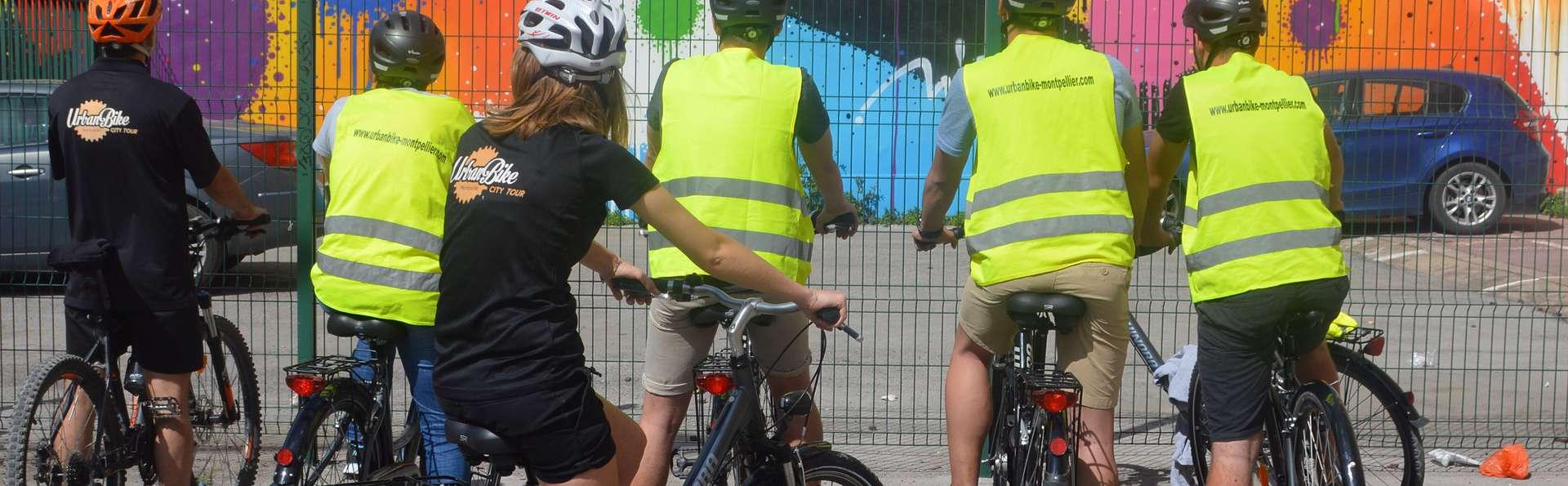 Week-end découverte de Montpellier en famille avec visite guidée en vélo