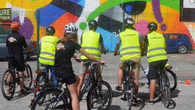 Visite guidée à vélo pour 2 adultes