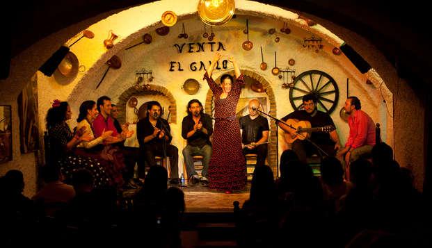 Puro flamenco de la mano de Venta el Gallo en un palacio de Granada