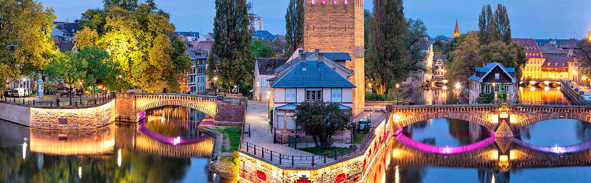 Séjour détente et visite de Strasbourg (à partir de 2 nuits)