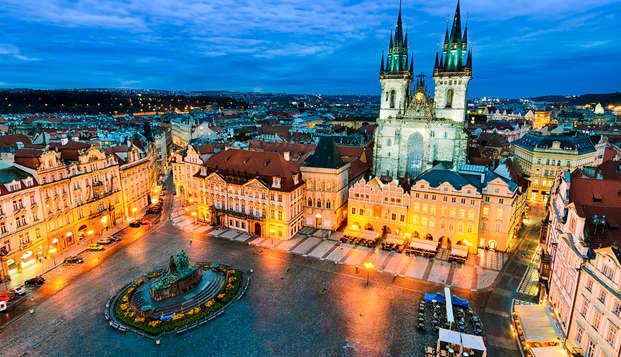 Geniet van een culinair weekendje weg in een superieure kamer in Praag (vanaf 2 nachten)