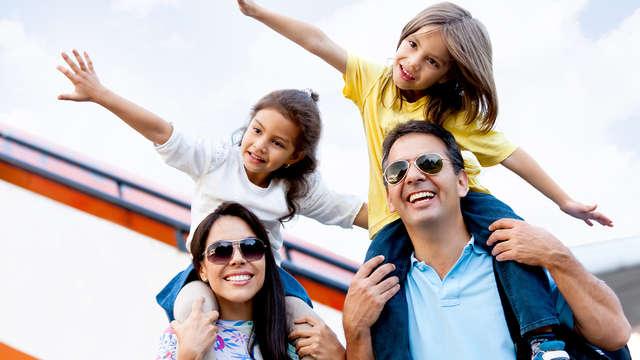 Mini-Vacaciones en Familia: Escapada en Régimen Media Pensión con 2 niños gratis (desde 3 noches)