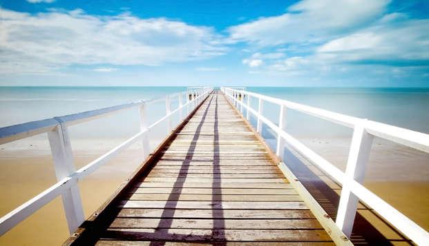 Offerta ad Acaya: 5 notti in resort con accesso alla spiaggia nel cuore del Salento