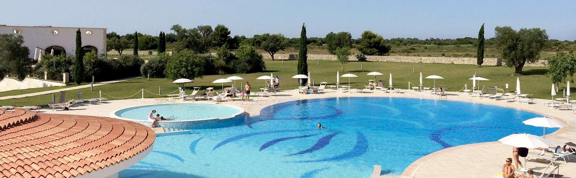 Soggiorno di benessere in Salento in un resort con accesso alla SPA