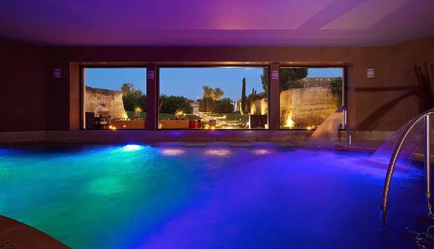 Nel cuore del Salento in resort in mezza pensione e accesso alla spa