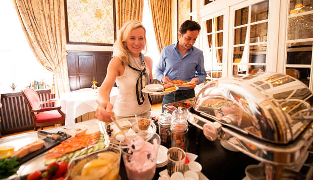 Relais Chateaux Hotel Heritage - buffet