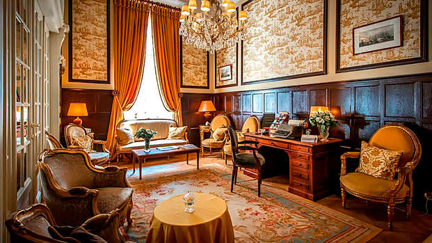 Relais Chateaux Hotel Heritage - lobby