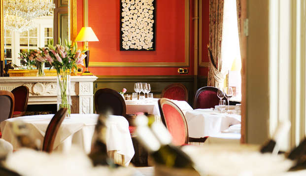 Relais Chateaux Hotel Heritage - restaurant