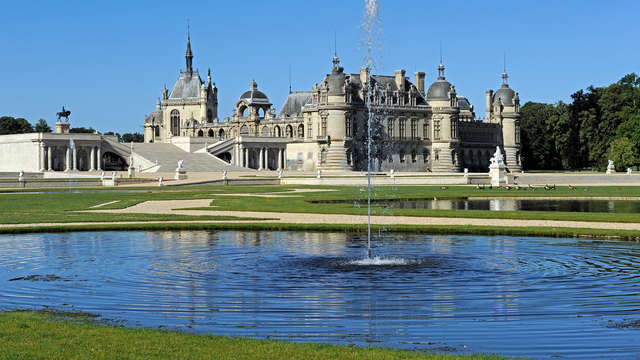 Week-end avec pass au Domaine de Chantilly