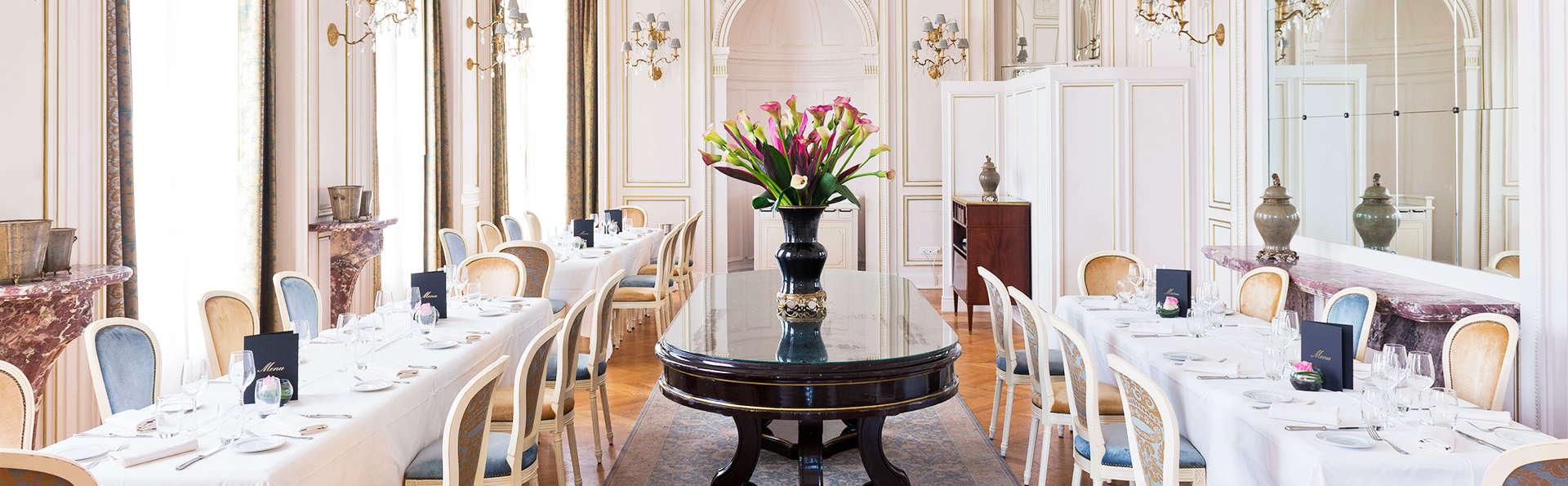 Pause bien-être avec dîner dans un château près de Chantilly