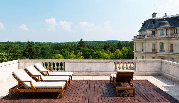 Tiara Chateau Hotel Mont Royal Chantilly - terrace
