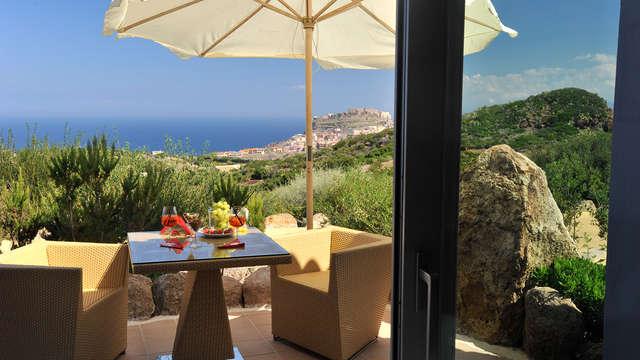 Séjour romantique dans une belle propriété en Sardaigne avec jacuzzi dans la chambre